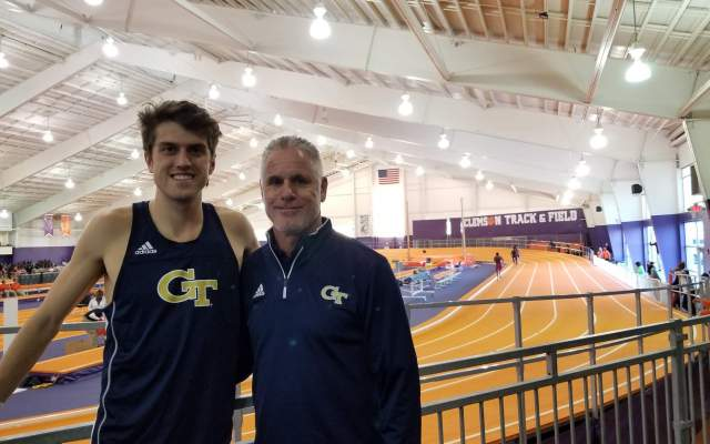 Kirillov Improves School Record At UCF Invite