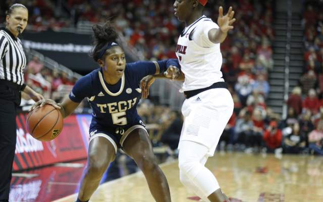 Yellow Jackets Face NC State Sunday in Pink Zone Game