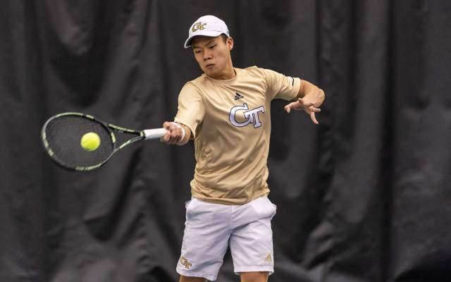 Men's Tennis Hosting No. 48 UNC-Wilmington Sunday