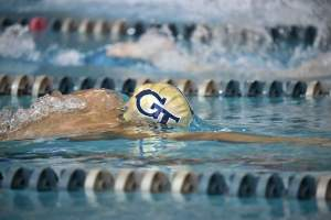 2008-09 GT Swimming Action Photos