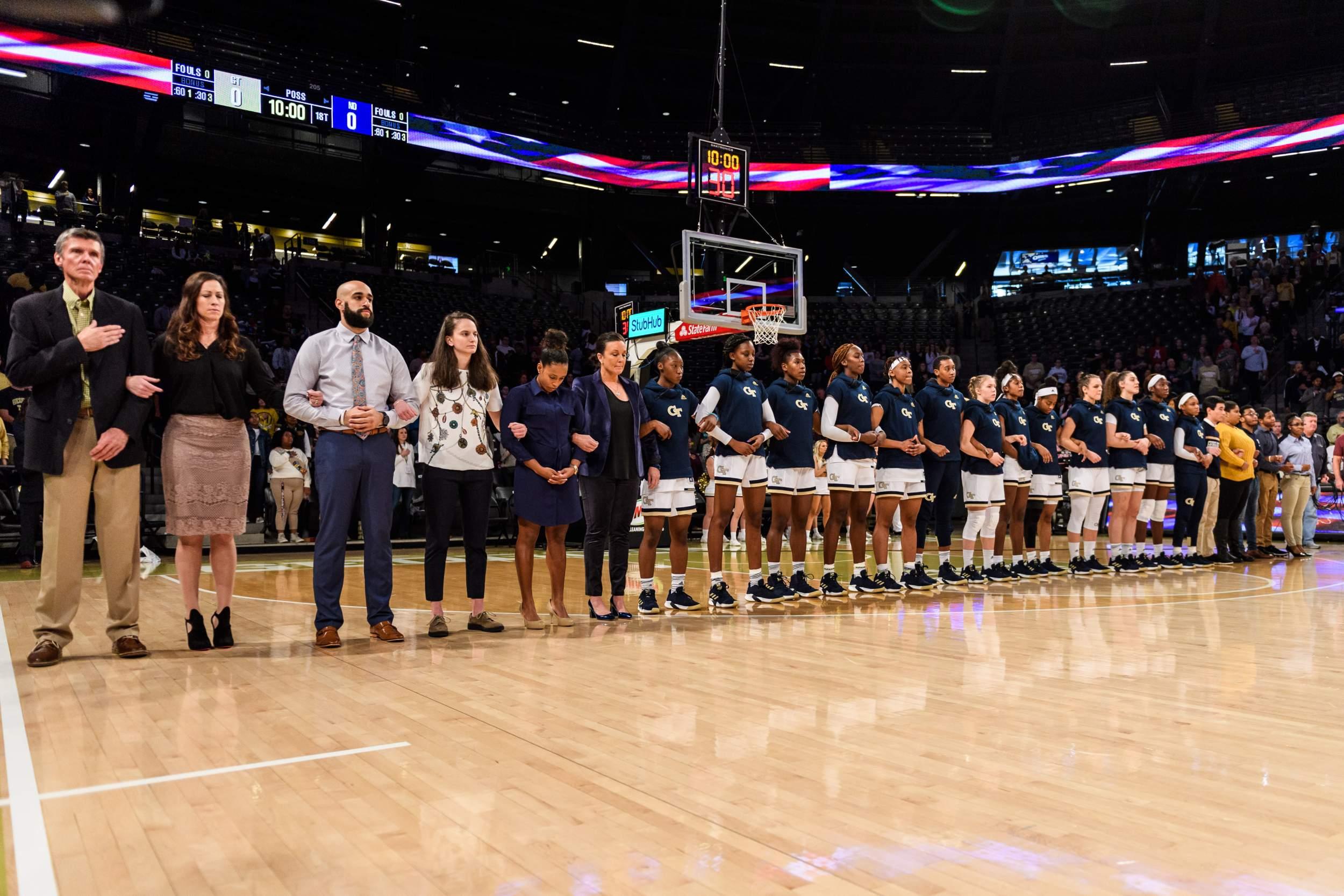 Photos: Women's Basketball vs  Notre Dame – Georgia Tech