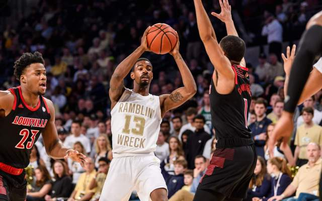 Tech Falls to Georgia, 70-59