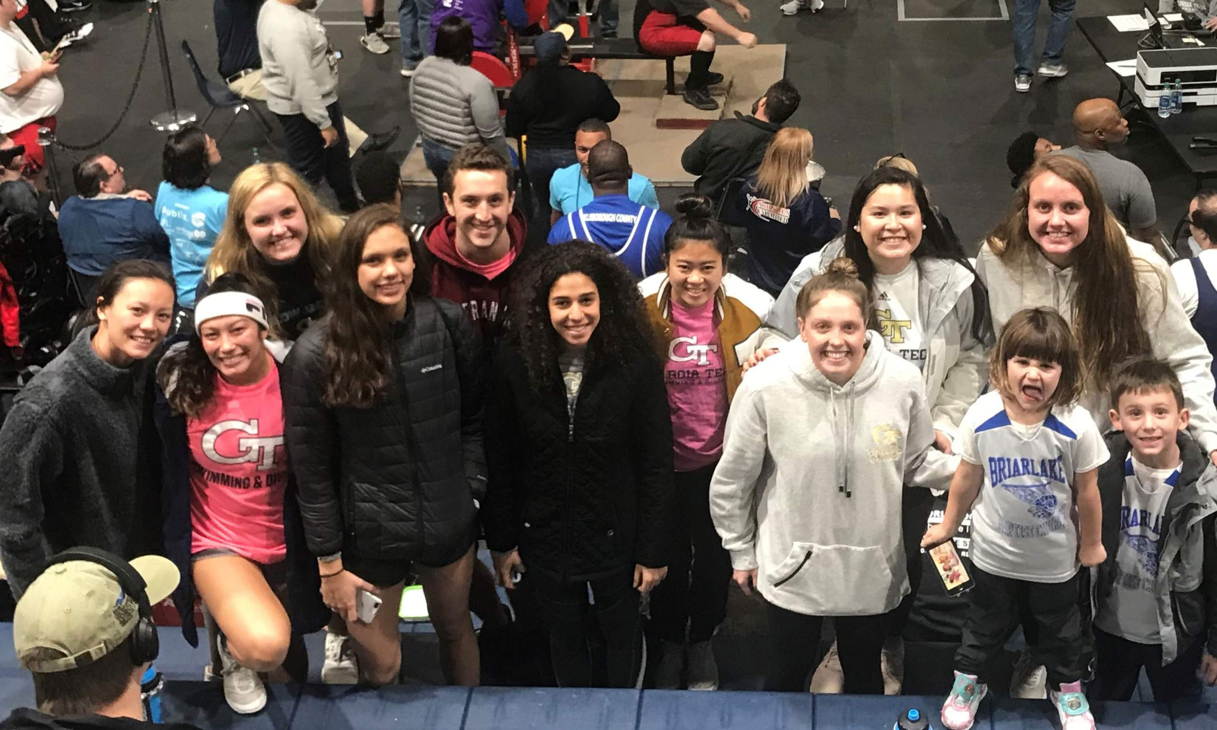 Swim-Dive Swarms Special Olympics Winter Games