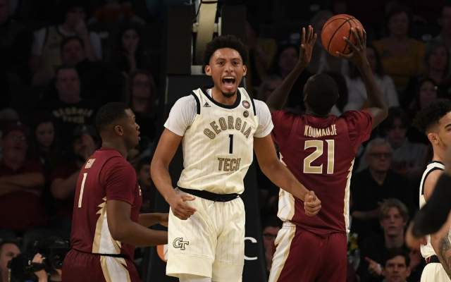 Georgia Tech Falls Short To Georgia, 73-72