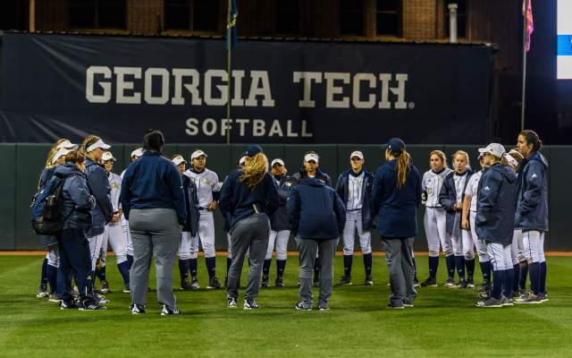 Georgia Tech Softball Splits Doubleheader with Troy State