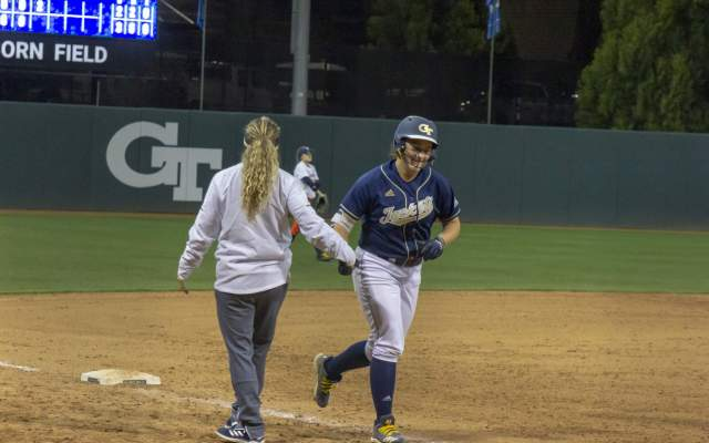Georgia Tech Softball Splits Doubleheader Against Maryland
