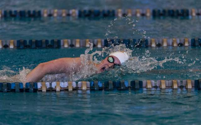 Gal Nevo Earns All-American Honors in 200-IM on First Night of NCAA Men's Swimming Championships