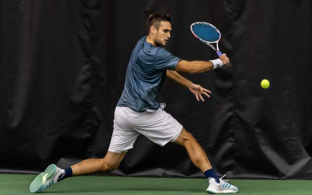 Men's Tennis Fall to No. 24 Miami, 5-2