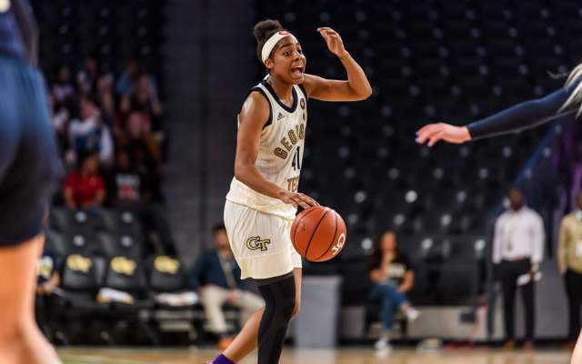 Georgia Tech Signee Kaela Davis Wins McDonald's 3-Point Contest
