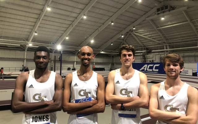 Tech Opens Indoor Season at Clemson