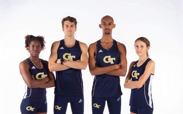Four Jackets Named To Academic All-District Track and Field Teams