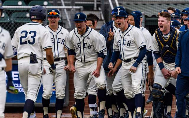No. 13 Baseball Hosts Crosstown Rival Georgia State
