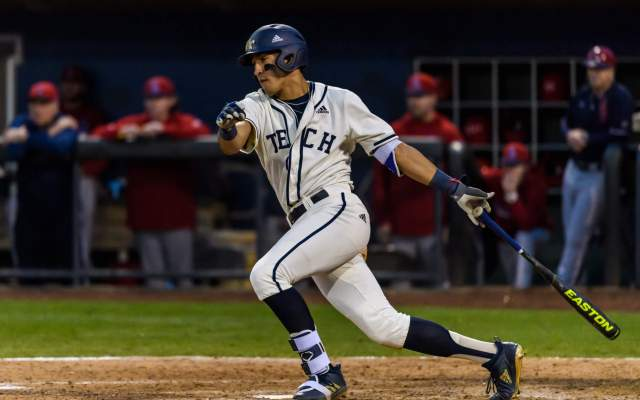 @GTBaseball Wins ND Series Behind Gold's Gem