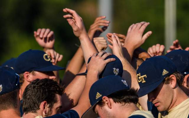 Smith Leads @GTBaseball's Comeback Win