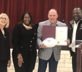 VIDEO: Collins Returns to Rockdale County