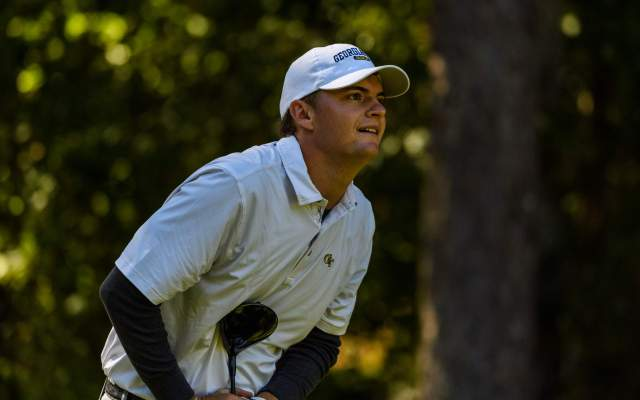Jackets Tied for 3rd at ACC Golf Championship