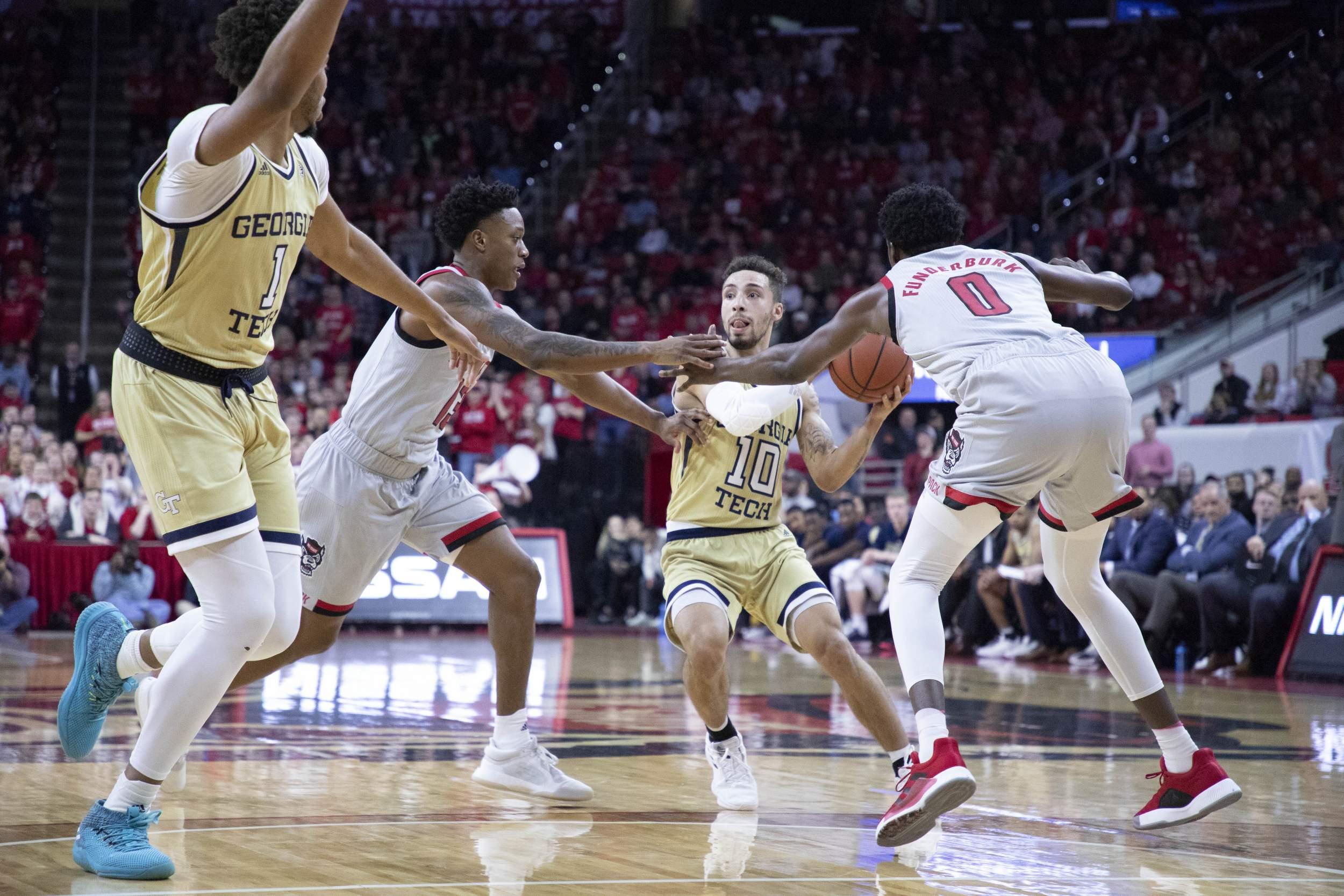 ACC Tournament: Tech Faces Notre Dame for Third Time – Men's