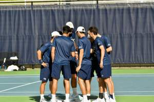 Men's Tennis versus Georgia State and Auburn