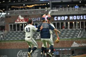 Baseball Beats Clemson to Clinch Series (Photos by Ken Langley)