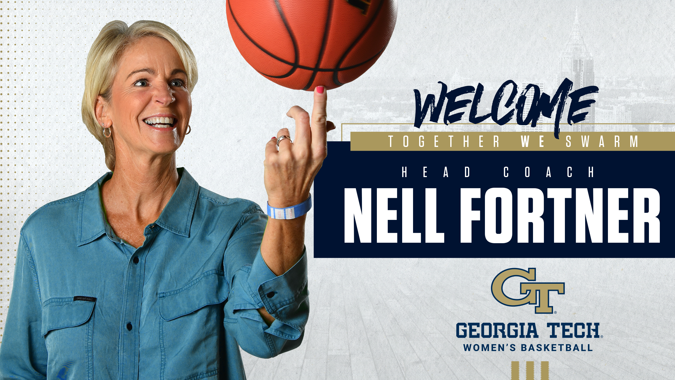 Welcome Head Coach Nell Fortner Georgia Tech Yellow Jackets