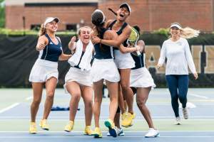 WTennis vs. Notre Dame by David Johnson