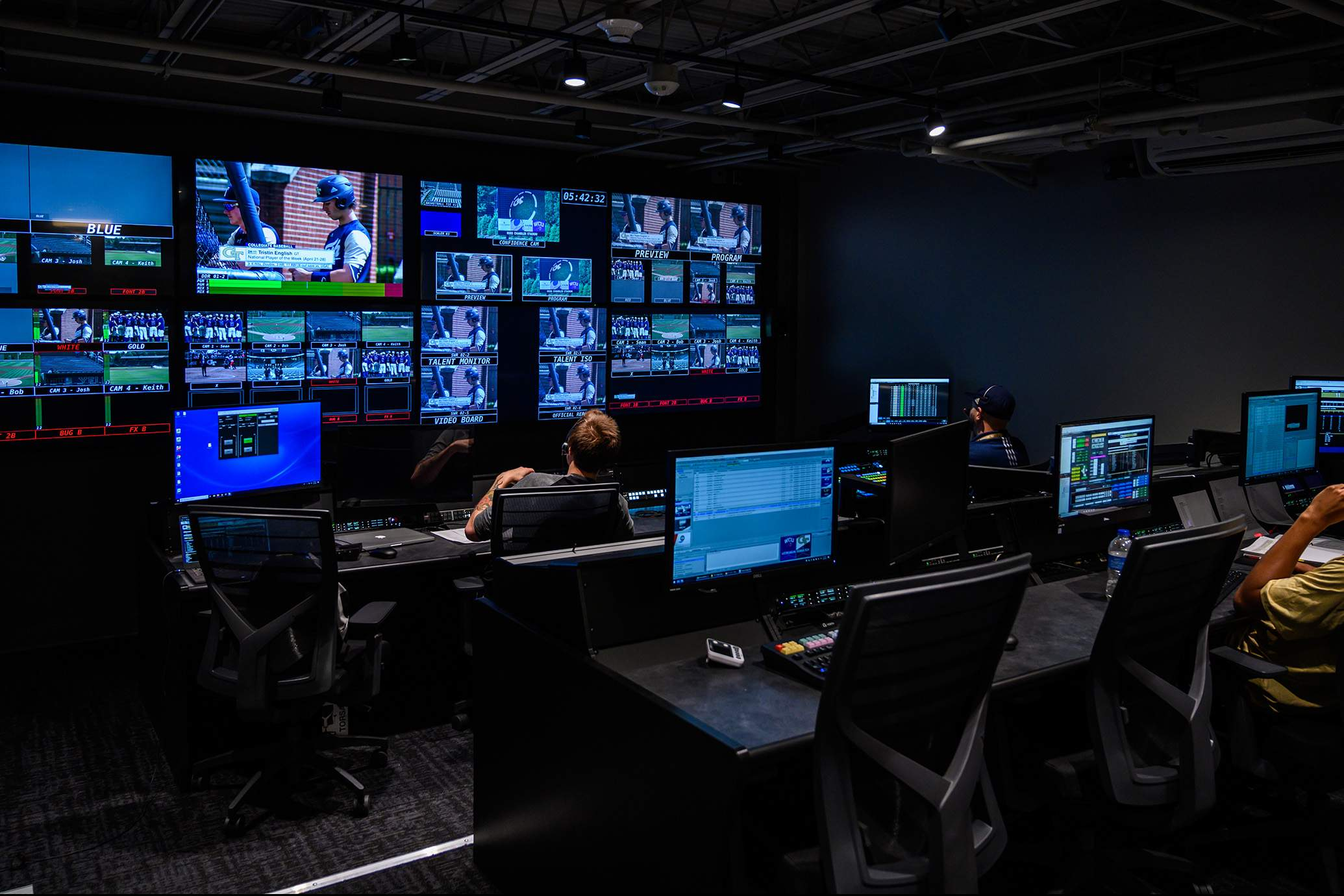 Georgia Tech ACC Network studios