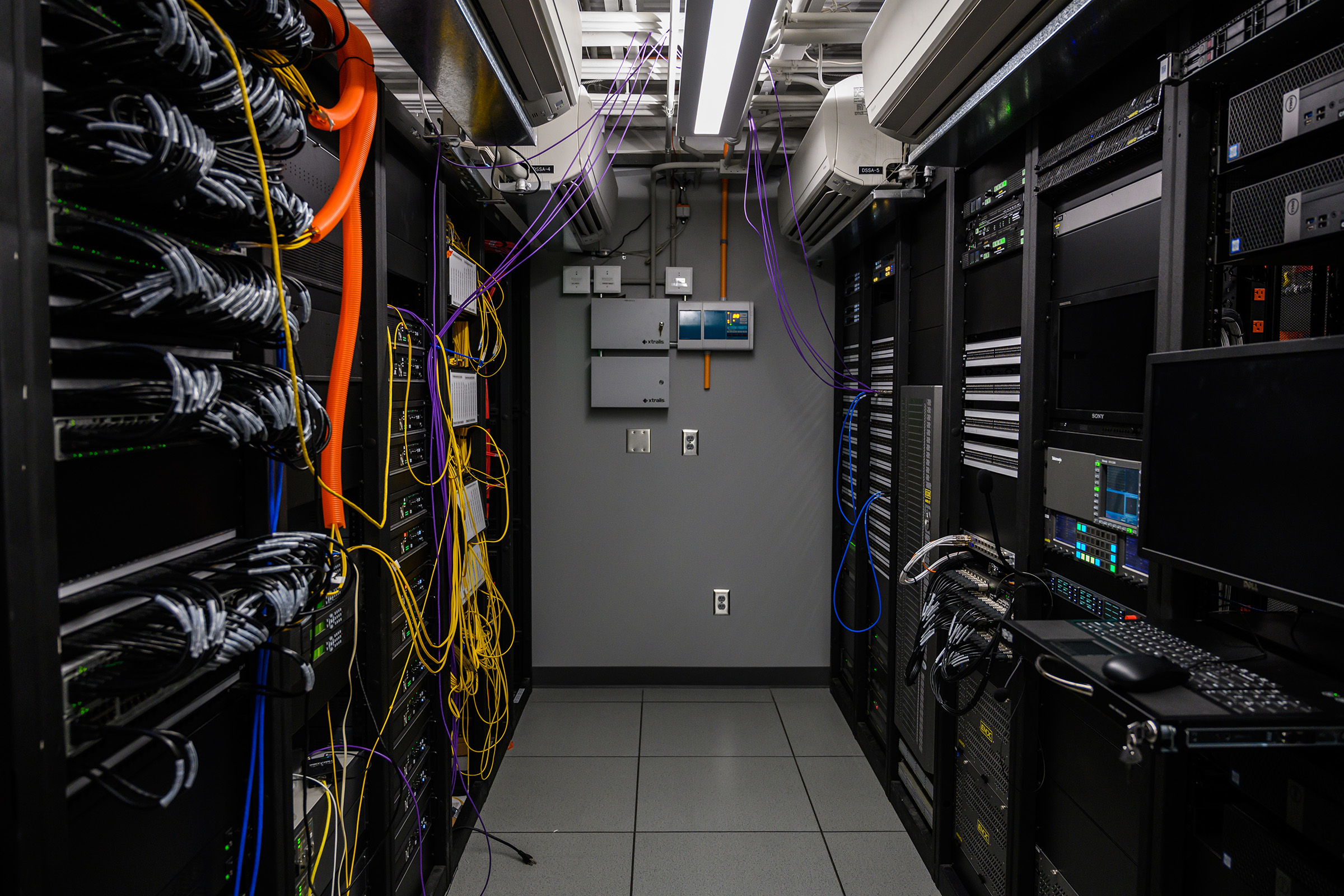 Georgia Tech ACC Network studios