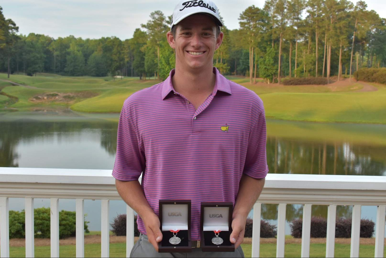 Noah Norton qualified for the 2019 U.S. Open at Hawks Ridge Golf Club, Ball Ground, Ga.,, June 3, 2019