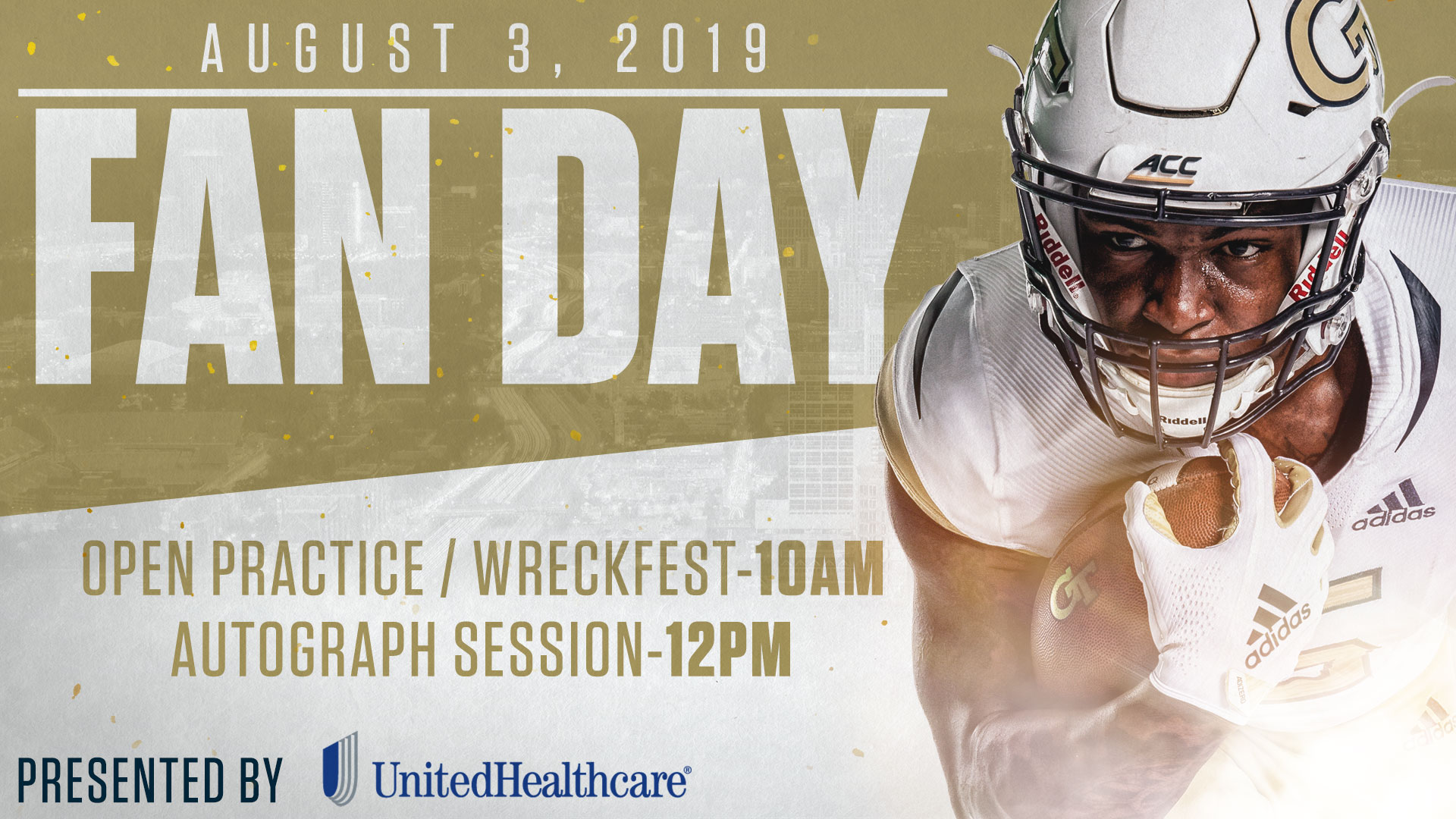 7433b12f THE FLATS – Fans will get a first glimpse at head coach Geoff Collins'  first Georgia Tech squad when the Yellow Jackets host their annual Fan Day,  ...