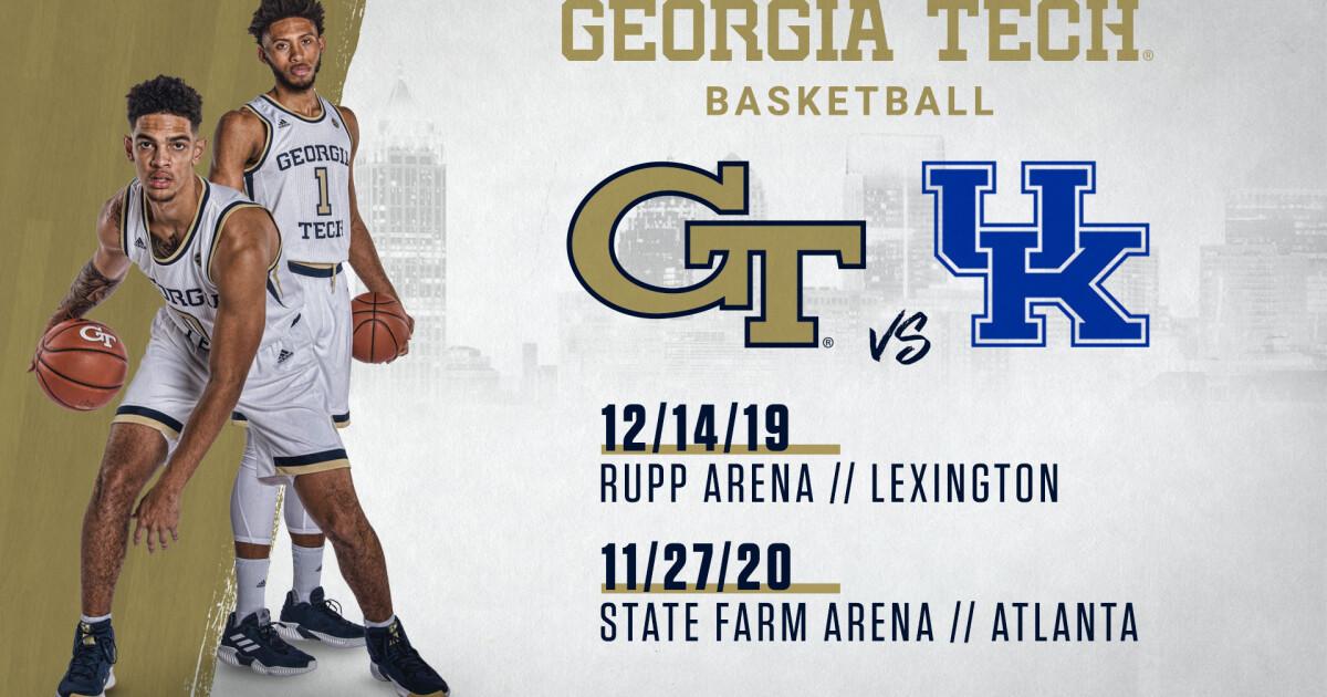 Georgia Tech Basketball and Kentucky Agree on 2-Game Series