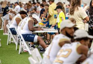 2012 Yellow Jacket Fan Day (8/4/12)