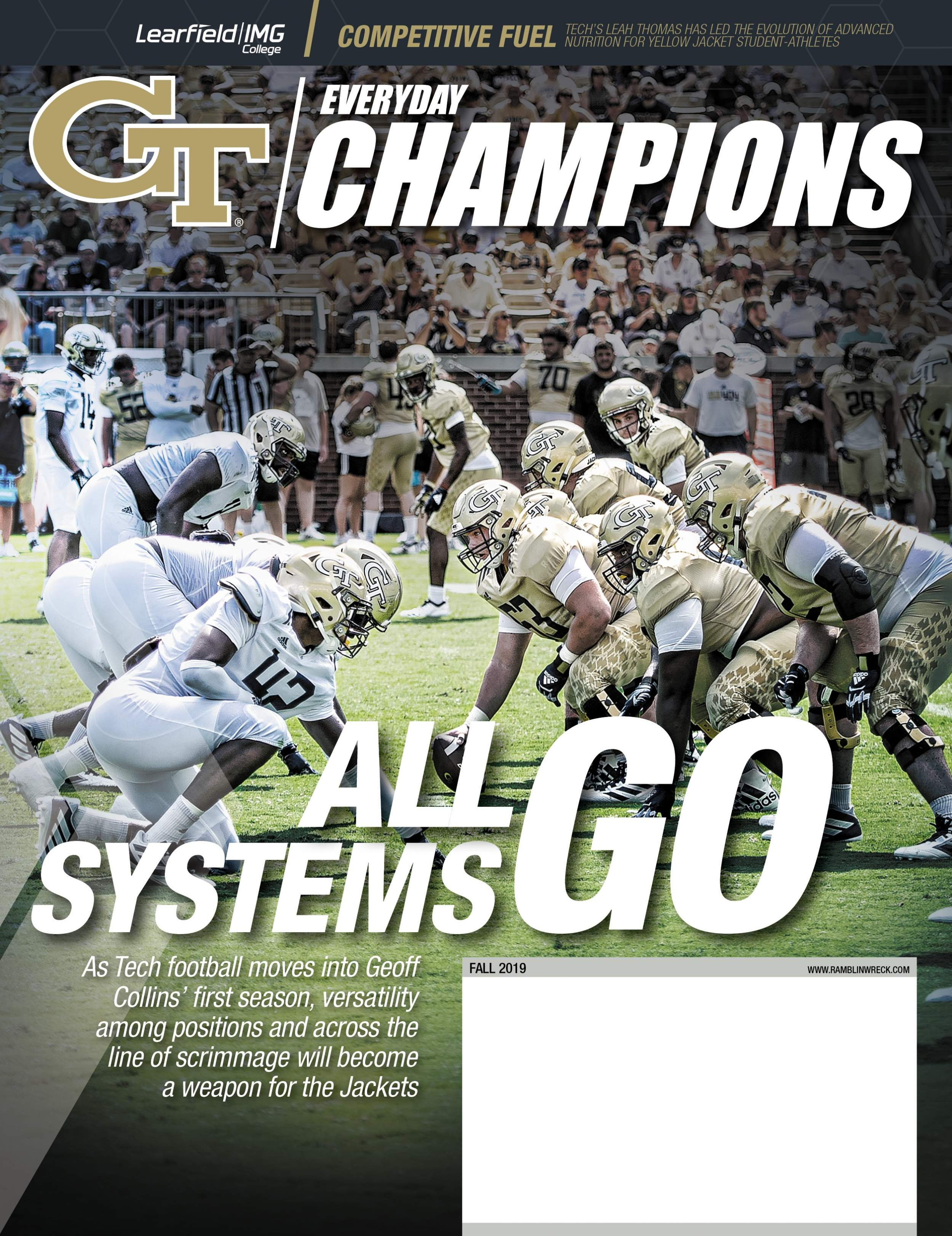Everyday Champions Magazine Fall 2019 Cover