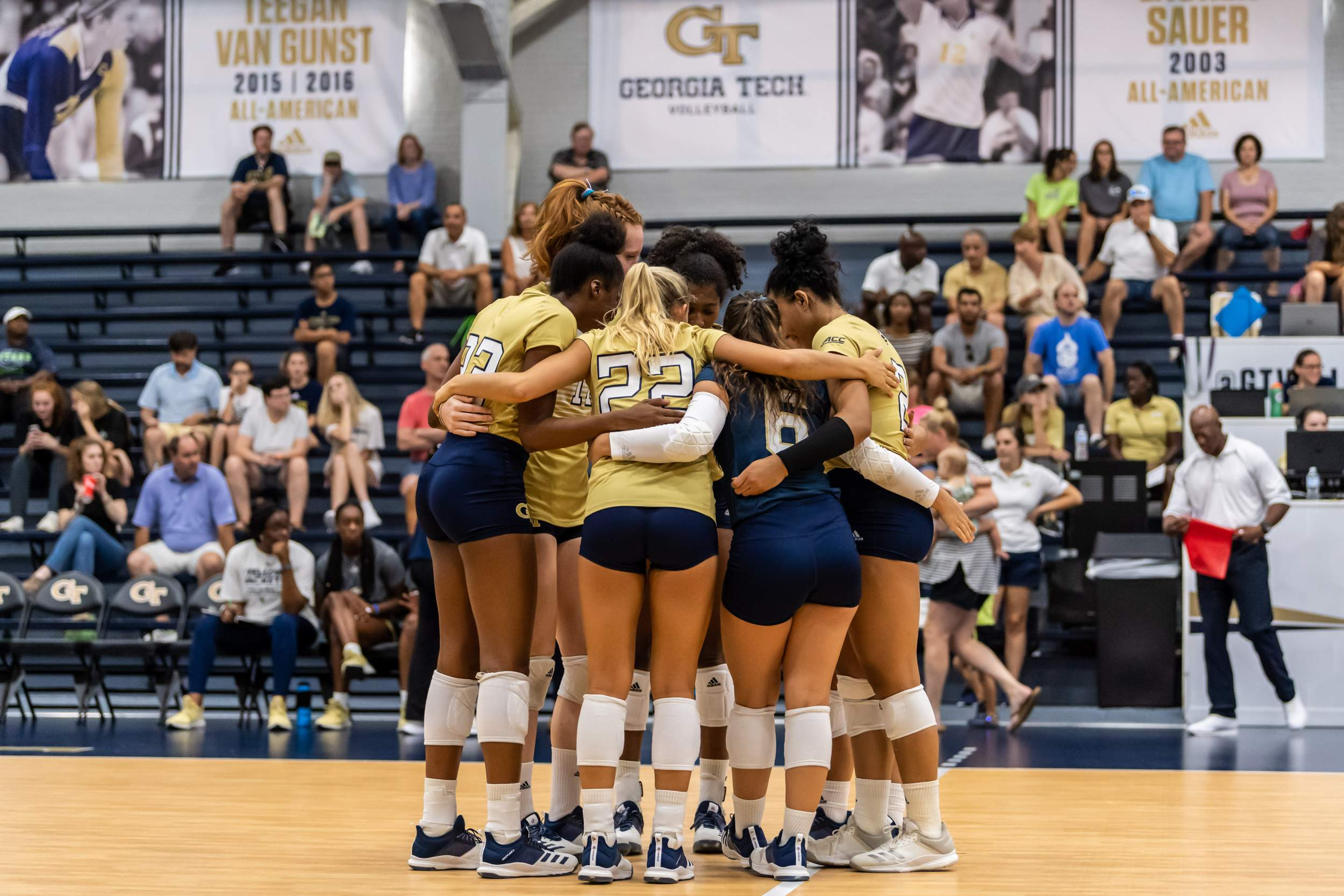 Tech Travels to Auburn for Exhibition Match