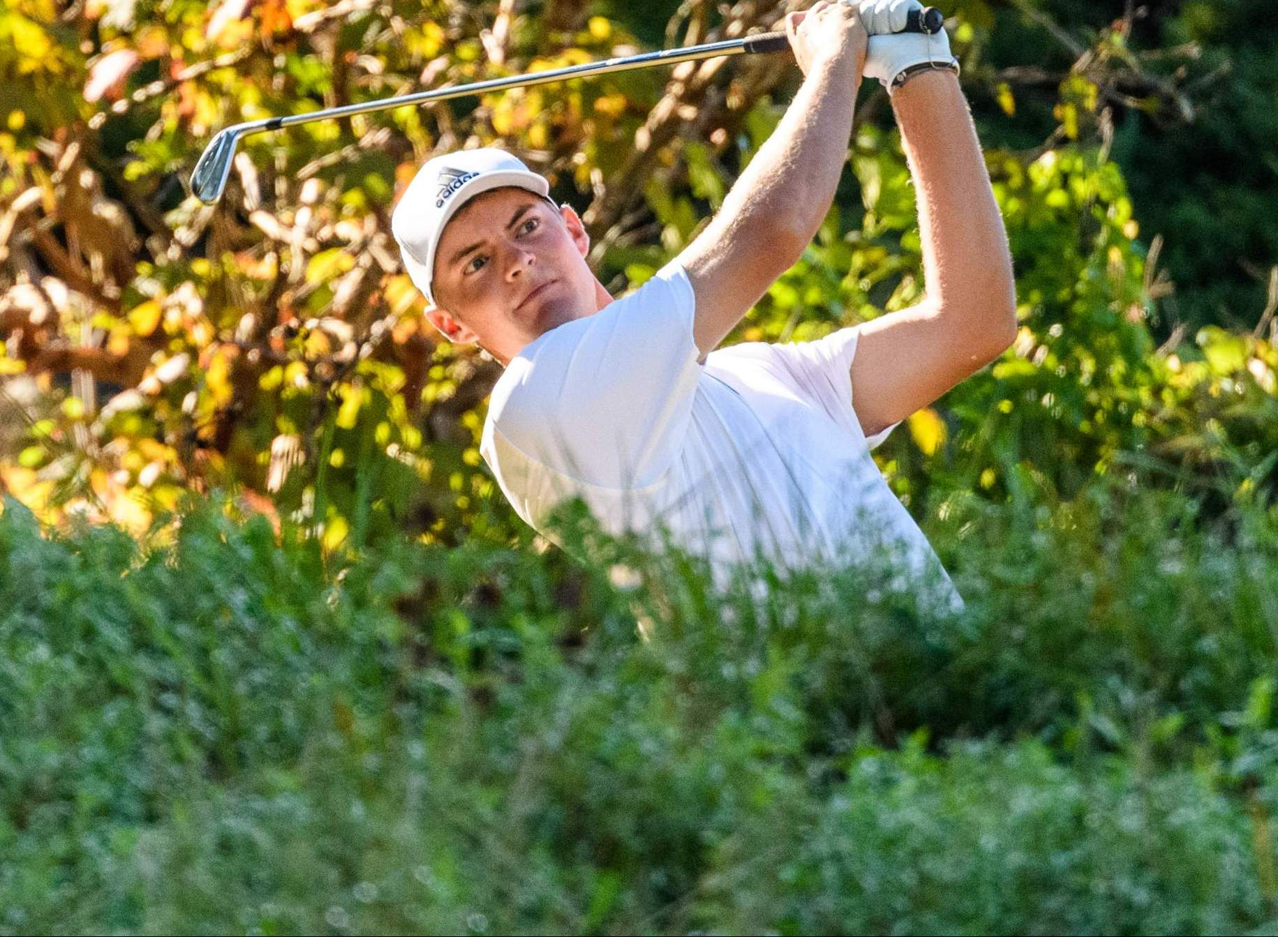 Strafaci Named ACC Golfer of the Month for October
