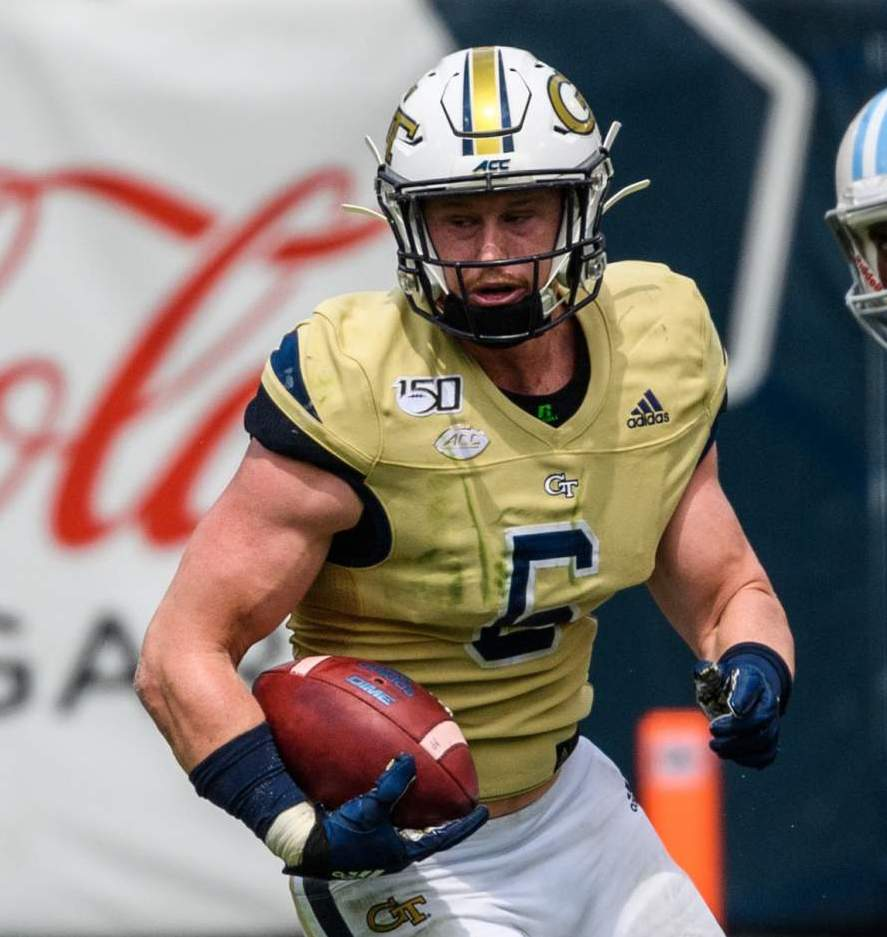 Photo: David Curry (6), Georgia Tech Athletics