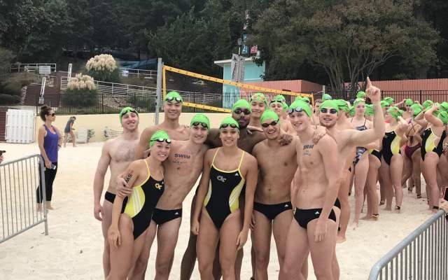 VIDEO: GT Swim-Dive at Swim Across America
