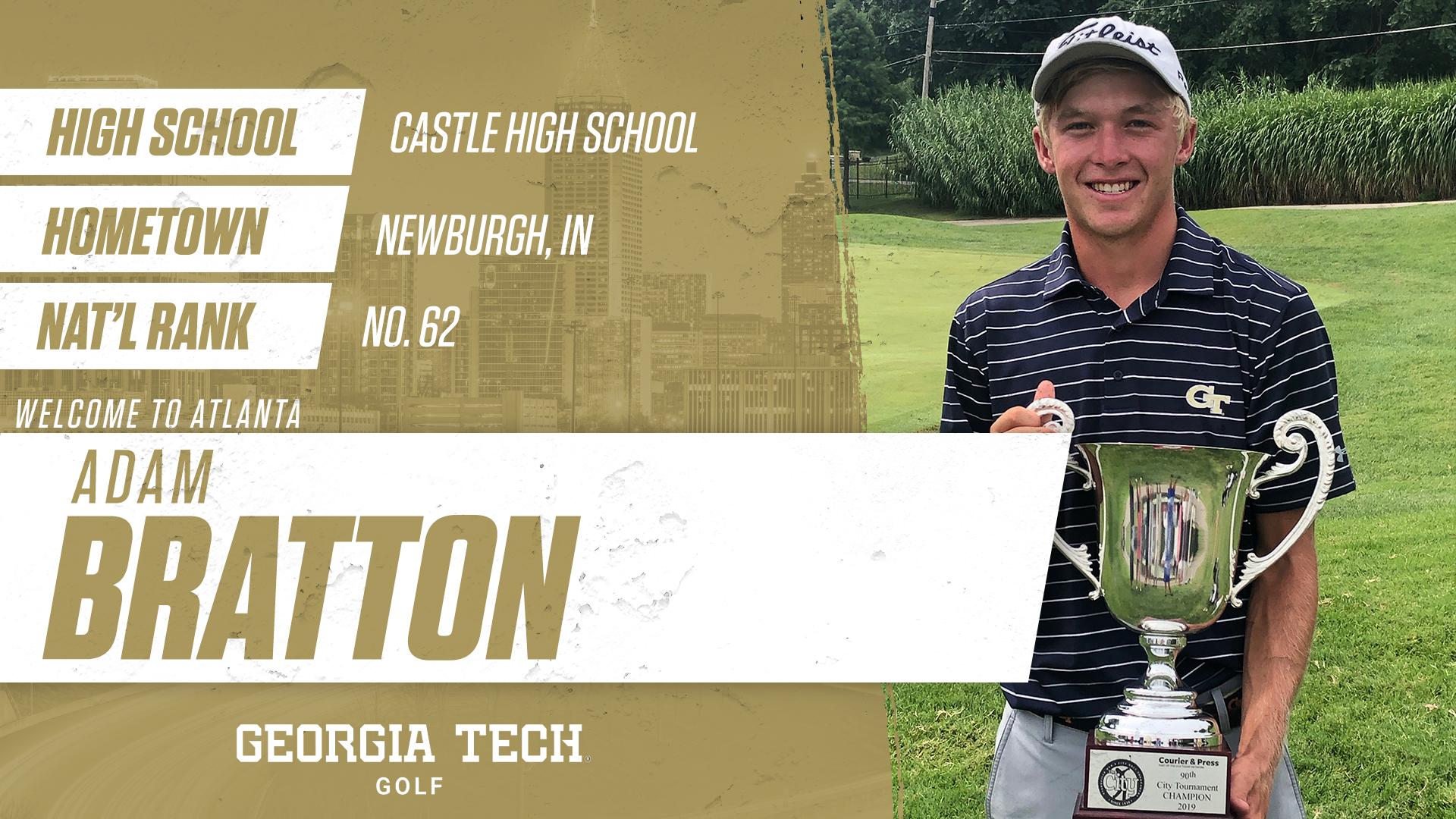Georgia Tech Golf Signs Three In 2020 Class Men S Golf Georgia Tech Yellow Jackets