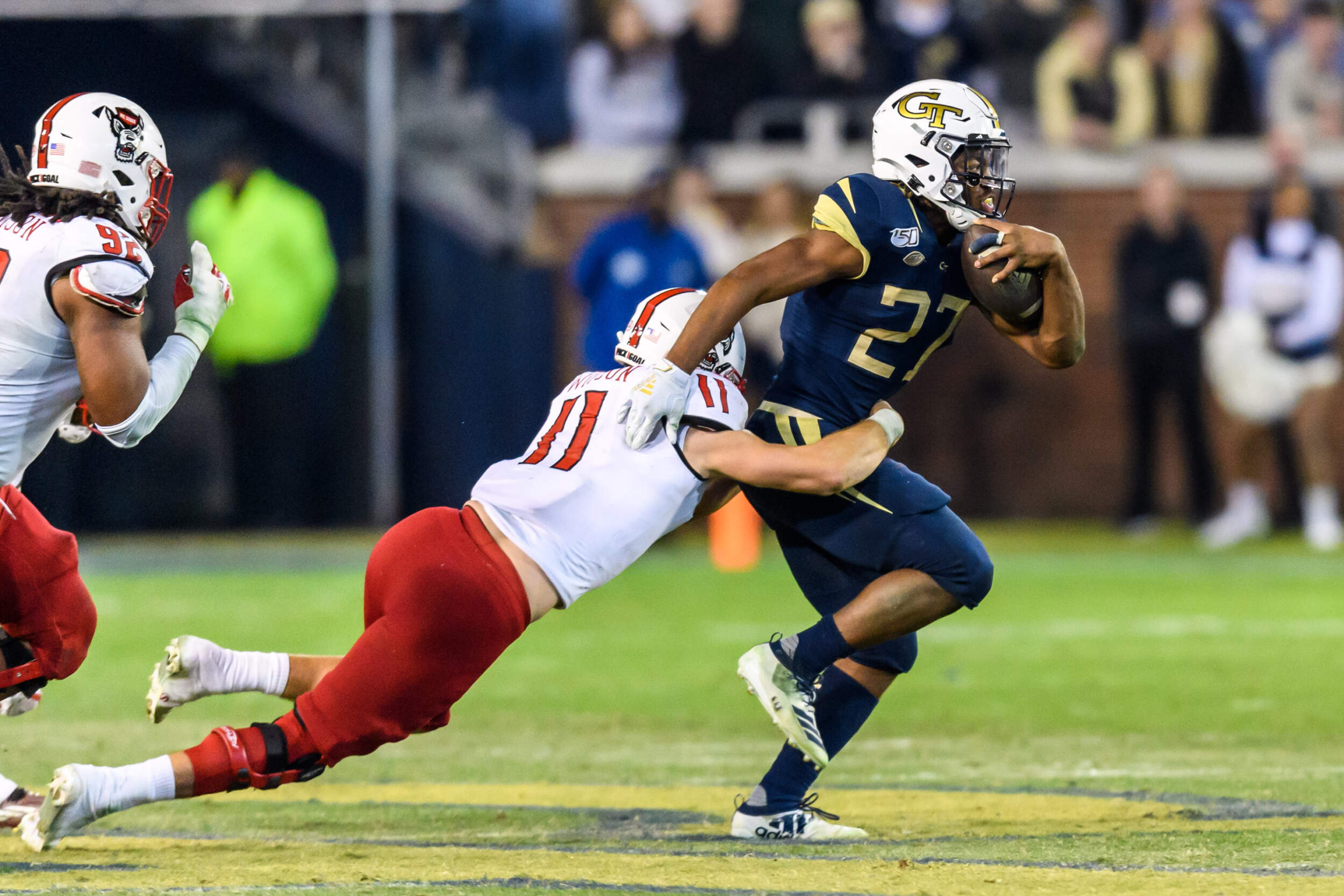 Jackets Earn Primetime Win Over Nc State Football Georgia Tech Yellow Jackets