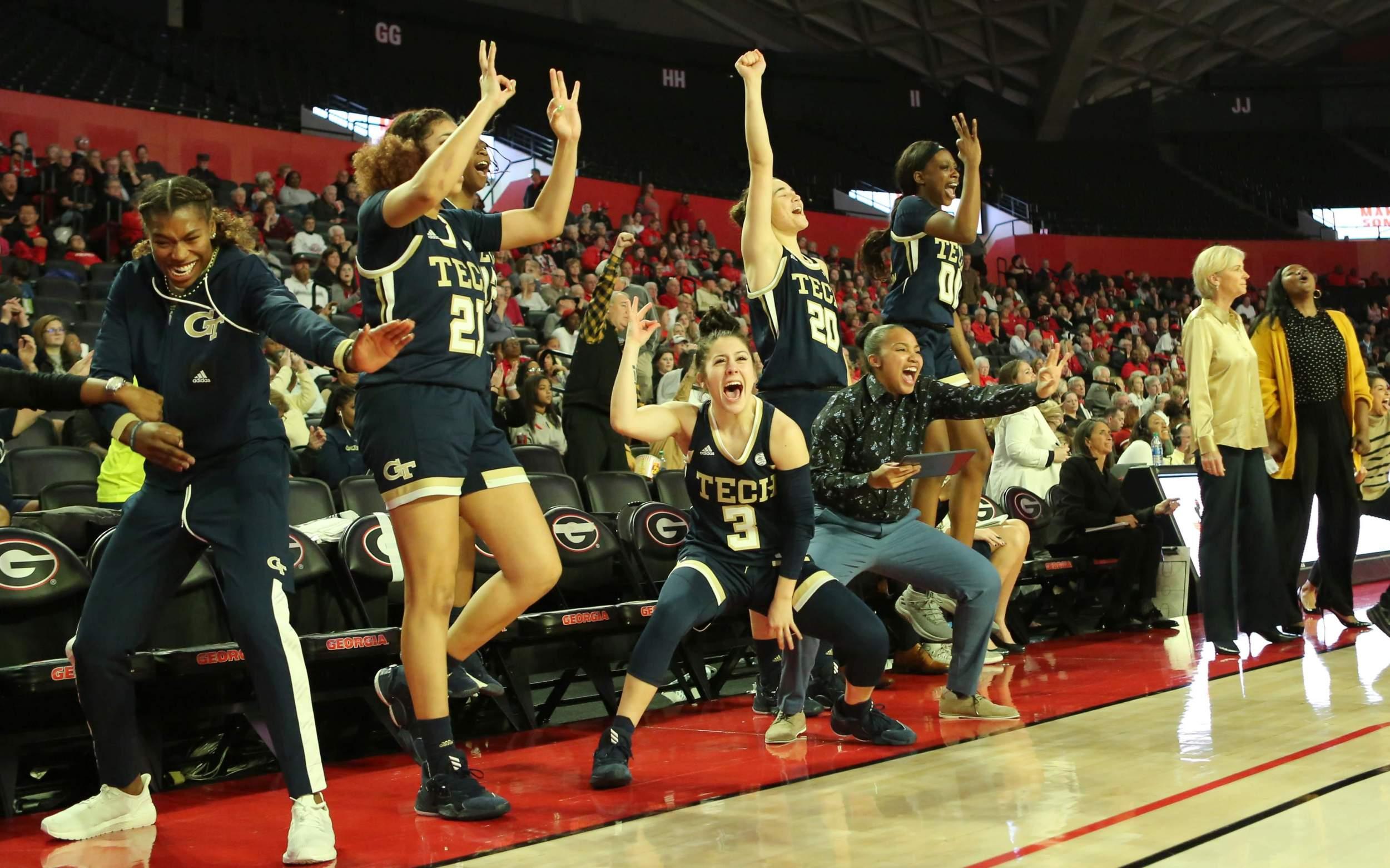 Women's Basketball Team vs UGA