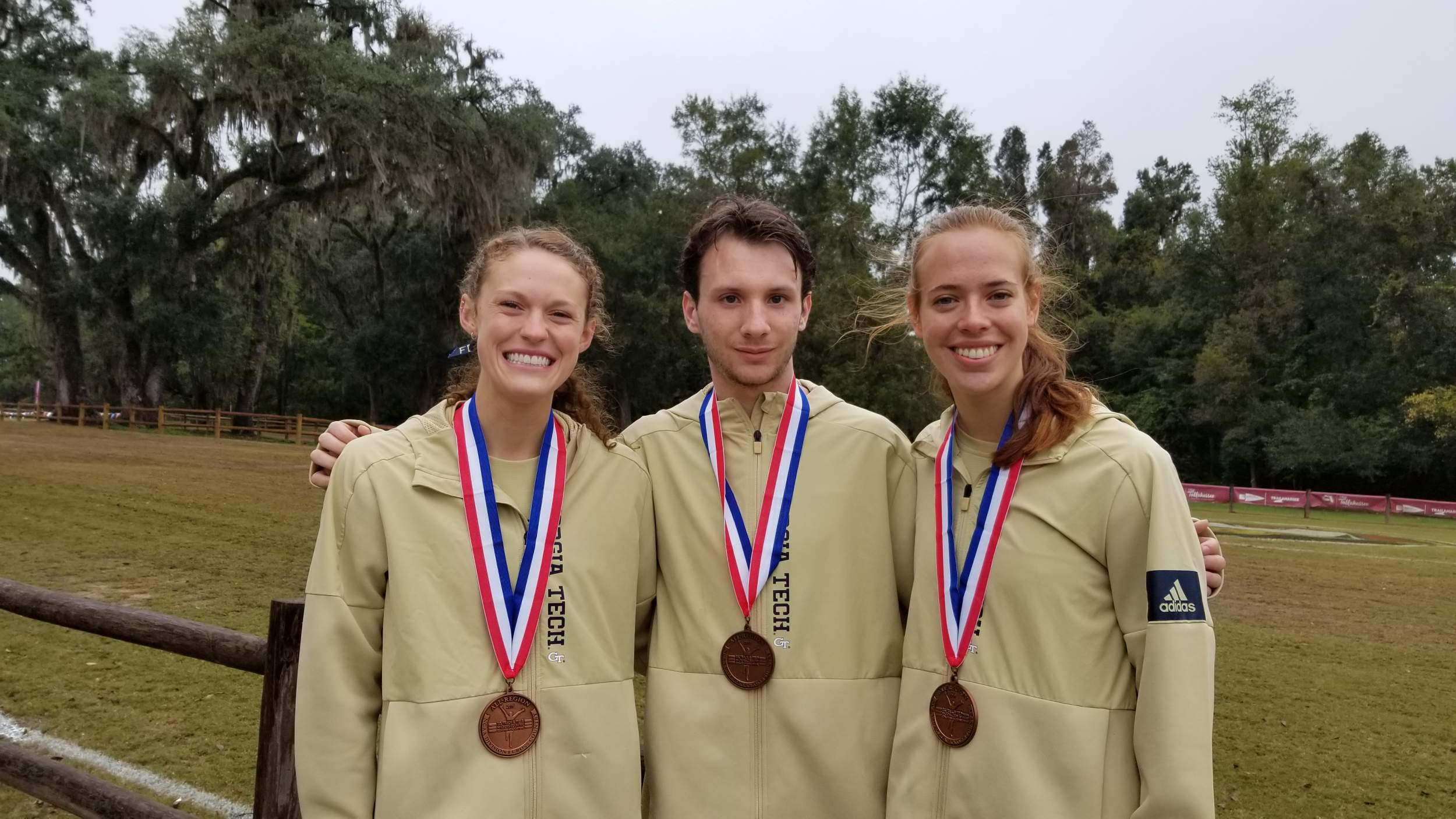 Jackets Finish Strong at South Region Championships