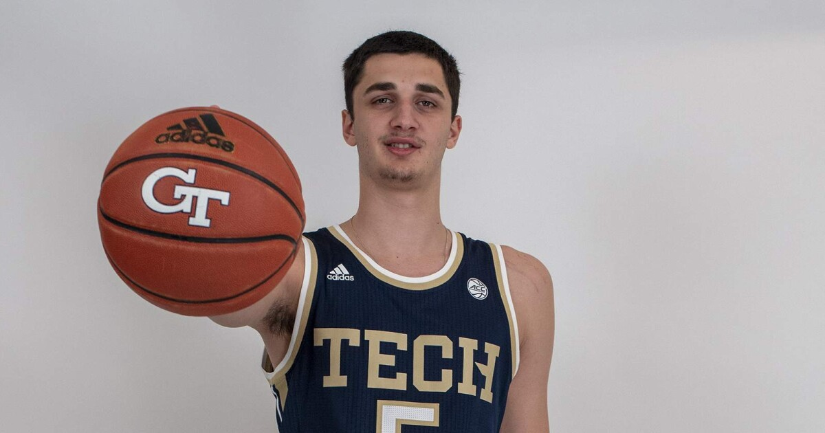 7-footer Saba Gigiberia Signs with Georgia Tech Basketball - Georgia Tech Official Athletic Site