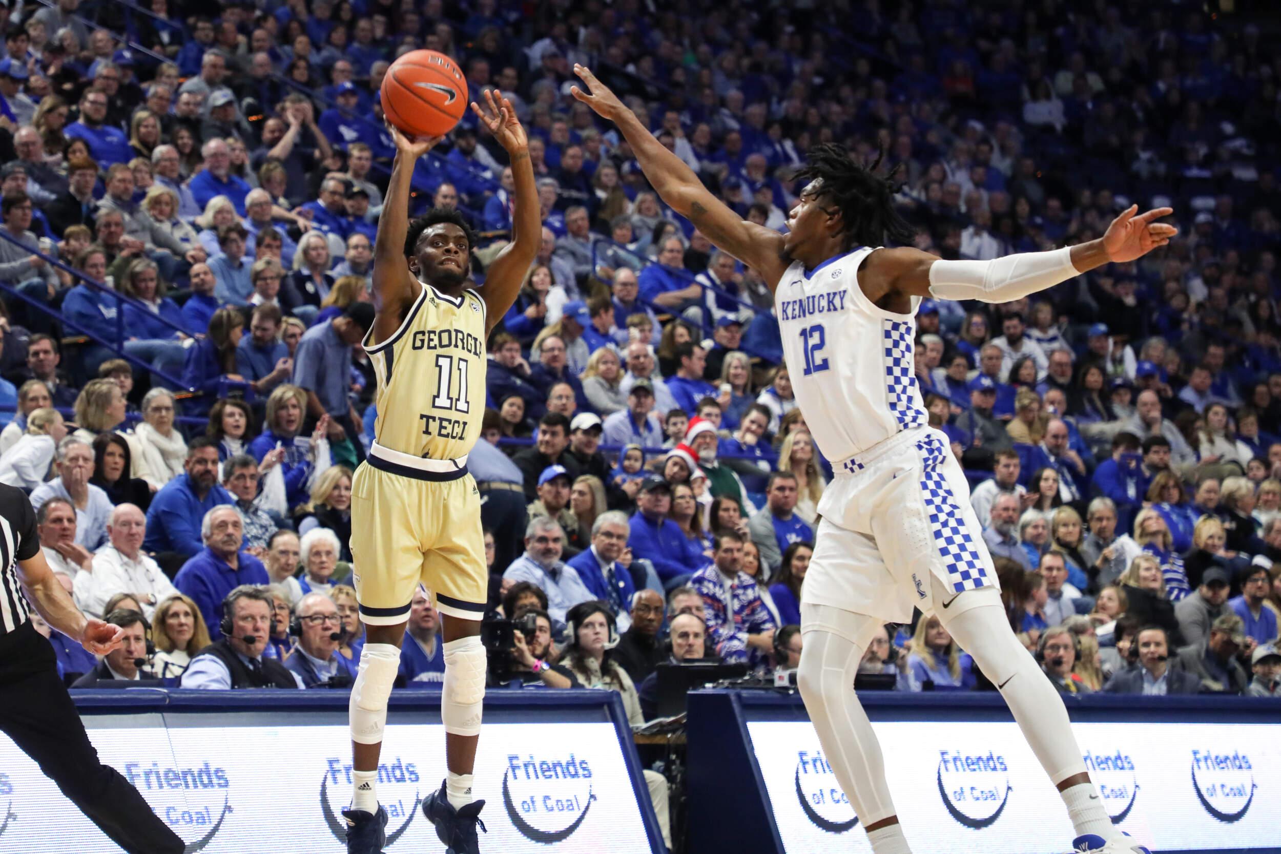 Hagans Scores 21, Leads Kentucky Past Ga. Tech 67-53
