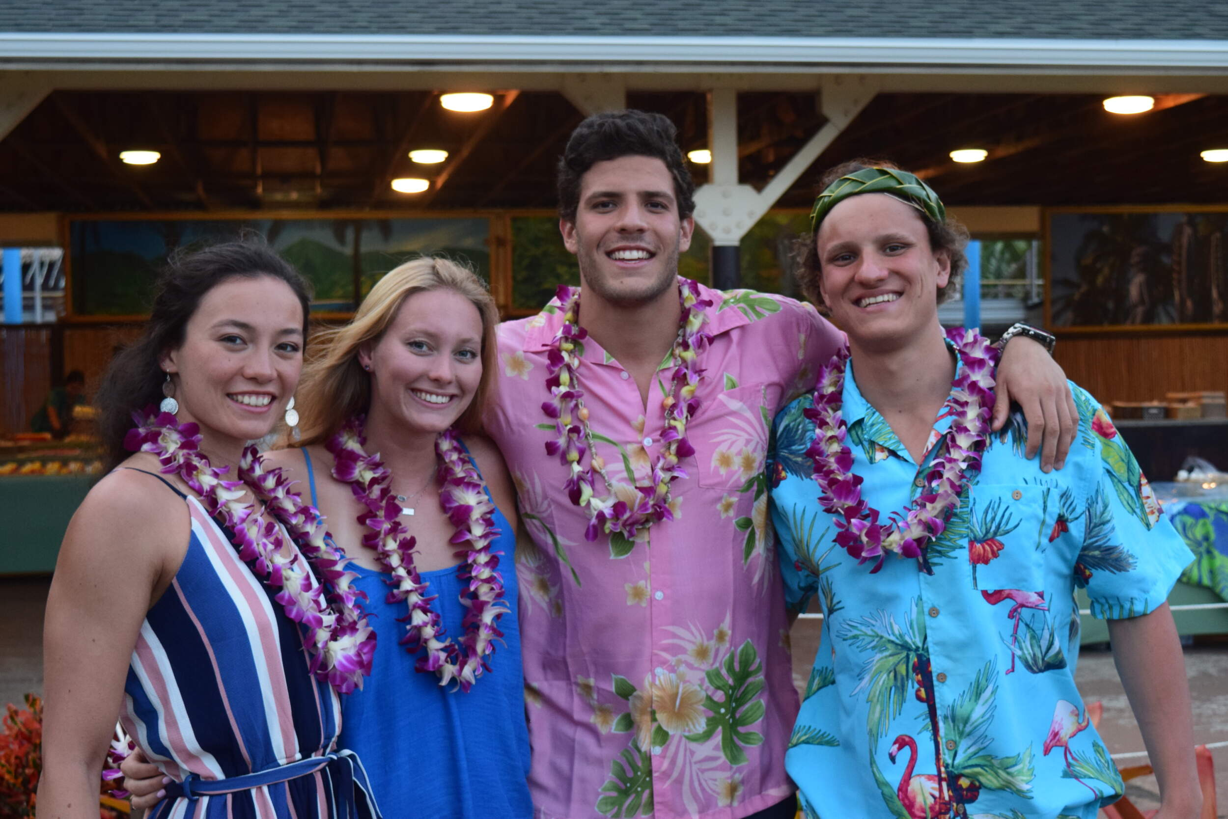 VIDEO: Swim-Dive Trains in The Aloha State