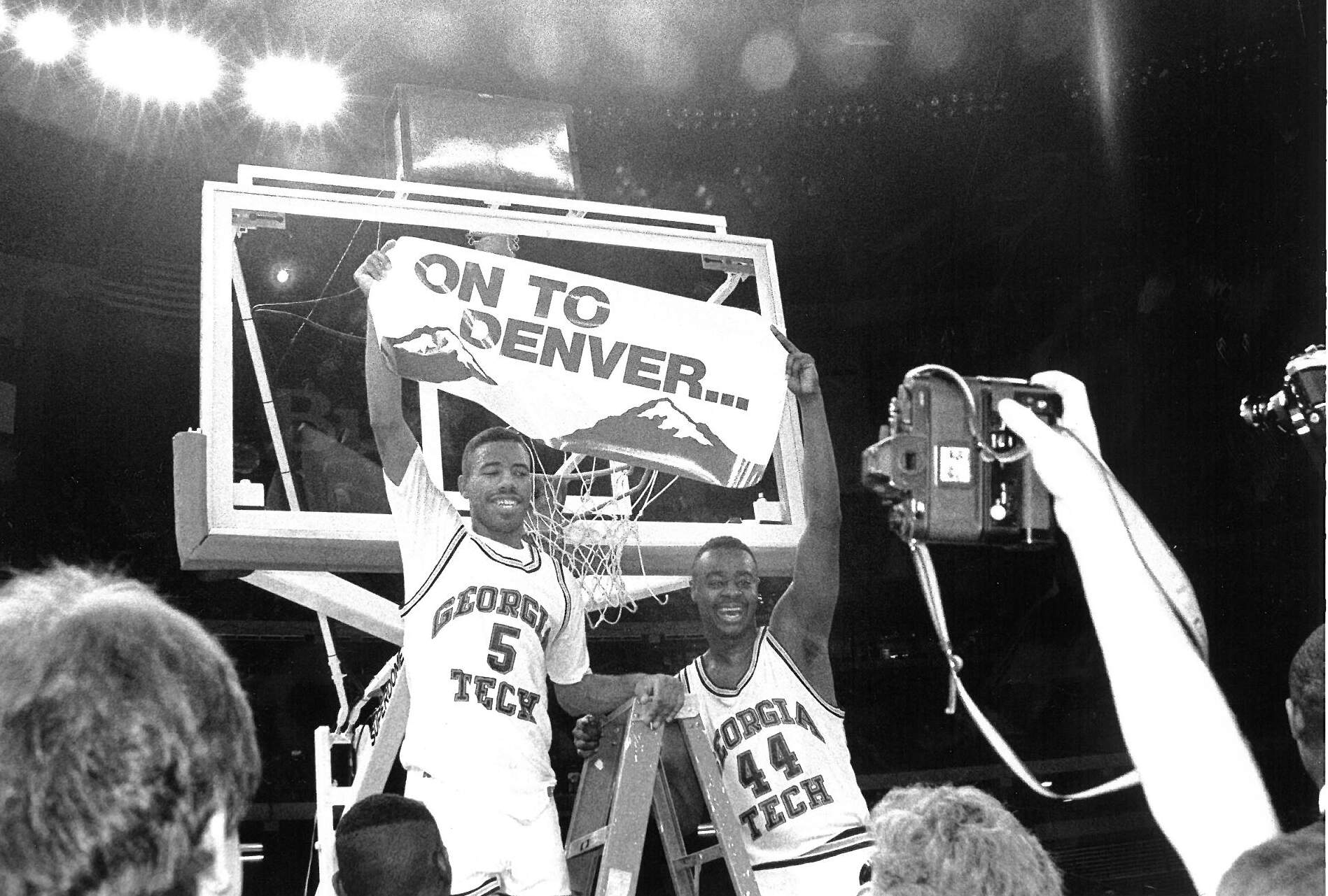 Karl Brown and Johnny McNeil_1990 NCAA South Regional