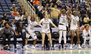 Photos: Women's Basketball Upsets No. 23 Miami