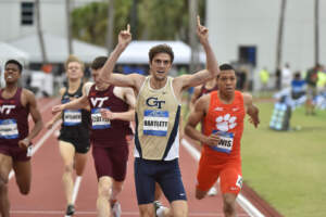 Georgia Tech T&F ACCs Day 1
