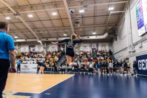 GT Volleyball vs. Mercer – 9/10/11