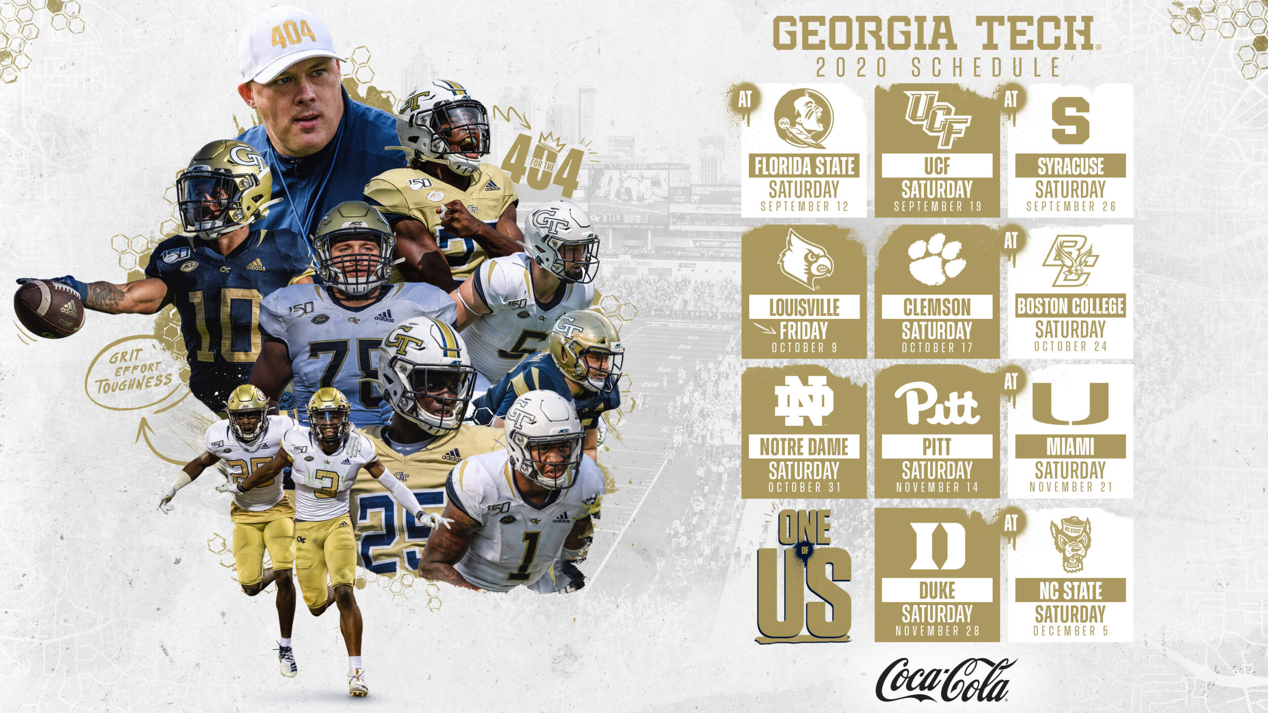 Georgia Tech S Revised Football Schedule Unveiled Football Georgia Tech Yellow Jackets