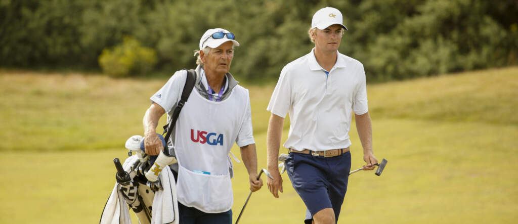 Tyler Strafaci - U.S. Amateur championship match, morning round, August 16, 2020