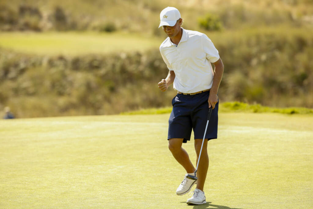 Tyler Strafaci - U.S. Amateur championship match, afternoon round, August 16, 2020